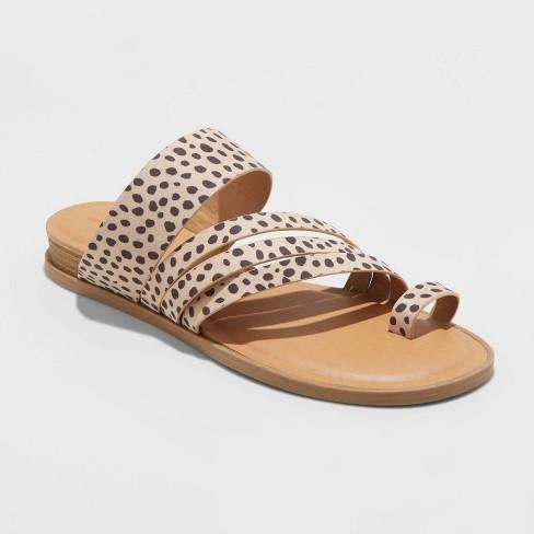 Women's Betti Multi-Band Thong Sandals - Universal Thread™ - image 1 of 3