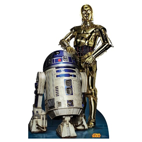 Star Wars R2D2 & C3PO Stand Up - image 1 of 1