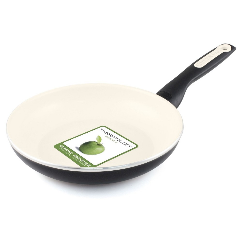 "Image of ""GreenPan Rio 7"""" Ceramic Non-Stick Frying Pan Black"""