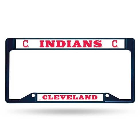 1 Cincinnati Reds Chrome Automobile License Plate Frame