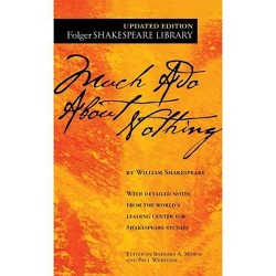 Much ADO about Nothing - (Folger Shakespeare Library) by  William Shakespeare (Paperback)