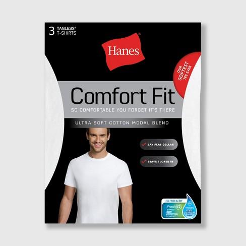 8c24b03ade Hanes Men s 4pk Comfort Fit Crew Neck T-Shirt - White   Target