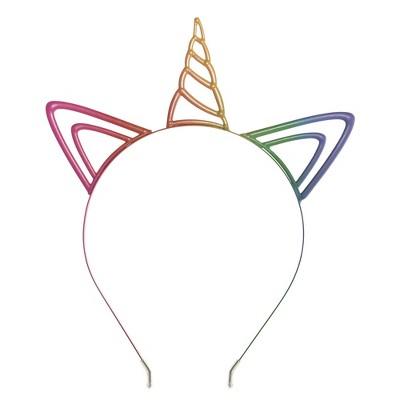 Hyde And Eek Kids Unicorn Ears And Kids Unicorn Clip On Tail Halloween Accessory