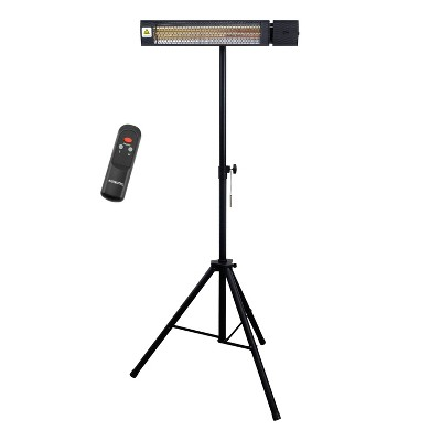 1500W Infrared Electric Patio Heater with Remote Control - Permasteel