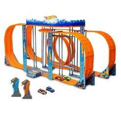 Hot Wheels Zero Gravity Set with 42.6ft Track - 1:43 Scale