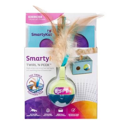 SmartyKat Twirly & Peek Electronic Motion Cat Toy