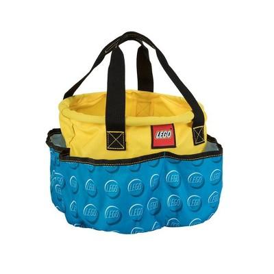 "LEGO 10"" Storage Big Drawstring Bag Toy Bucket"
