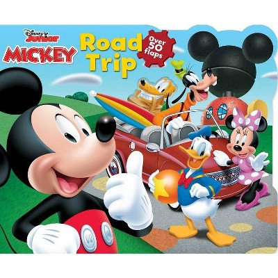 Disney Mickey Road Trip - (Lift-The-Flap) by  Lori C Froeb (Board Book)