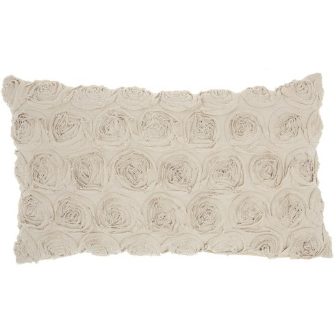 Mina Victory Life Styles Denim Roses Throw Pillow - image 1 of 4