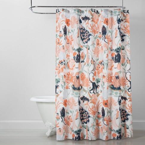Garden Of Monkeys Shower Curtain