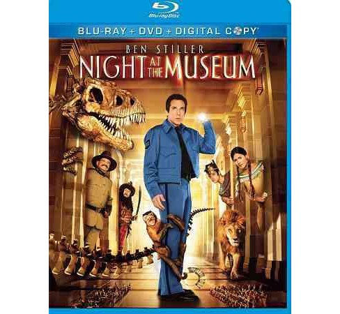 Night At The Museum (Triple Play) (Blu-ray) - image 1 of 1