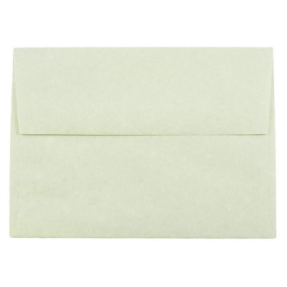 Jam Paper Envelopes A6 50ct Parchment Green
