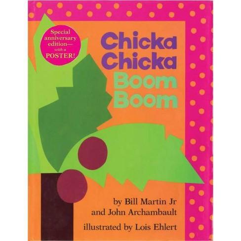 Chicka Chicka Boom Boom - (Chicka Chicka Book) by  Bill Martin & John Archambault (Hardcover) - image 1 of 1
