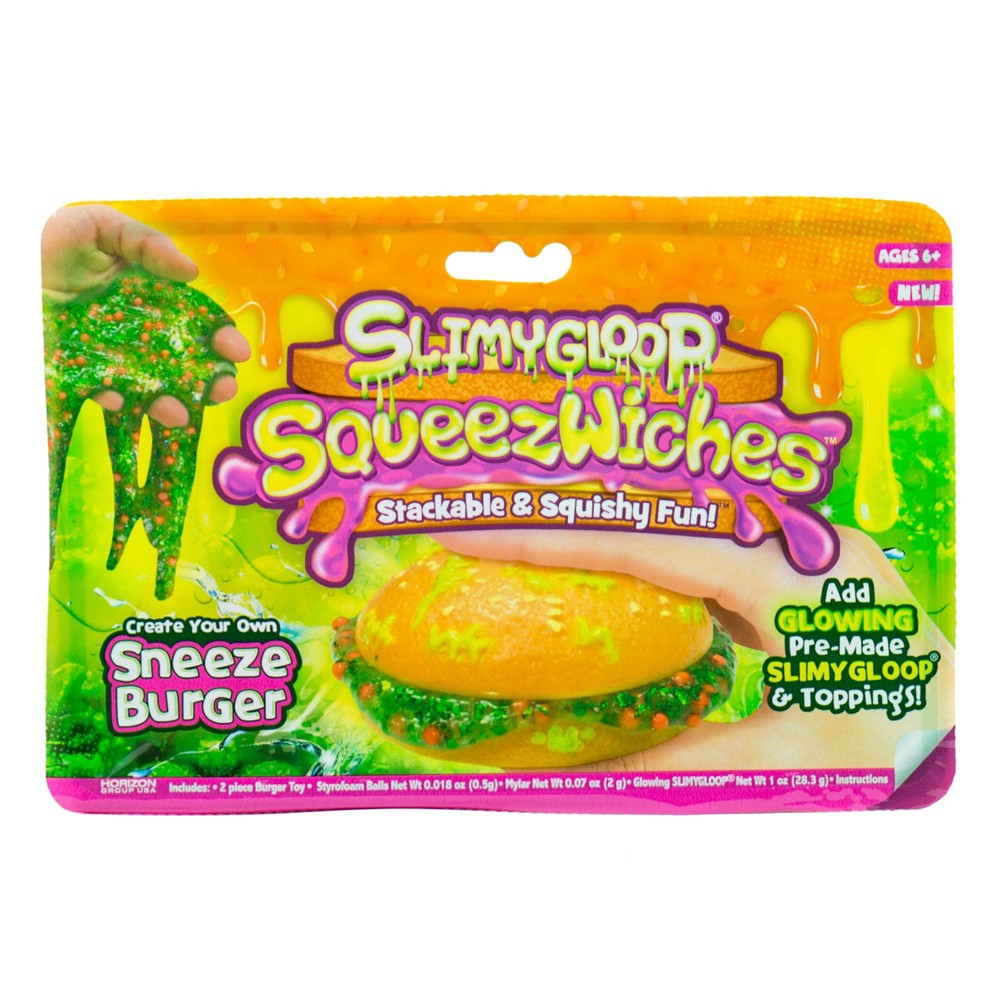 Image of SLIMYGLOOP SqueezWiches Sneeze Burger