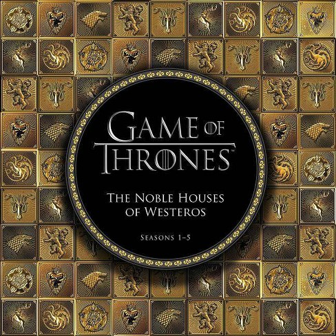 Game of Thrones: The Noble Houses of Westeros - (Hardcover) - image 1 of 1