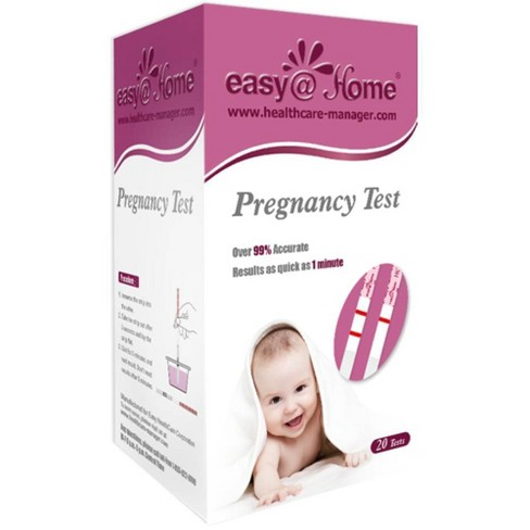 easy@Home Pregnancy Test Strips - 20ct - image 1 of 3