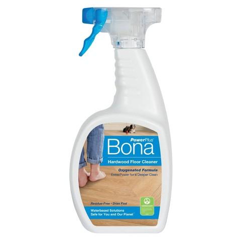 Bona Power Plus Hardwood Floor Cleaner 22oz Target