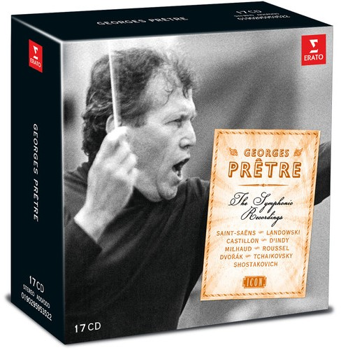 Georges pretre - Complete symphonic and erato recordin (CD) - image 1 of 1