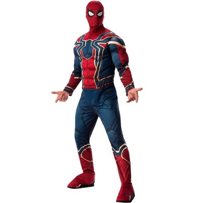 Rubies Marvel Avengers Infinity War Deluxe Mens Iron Spider Costume XL