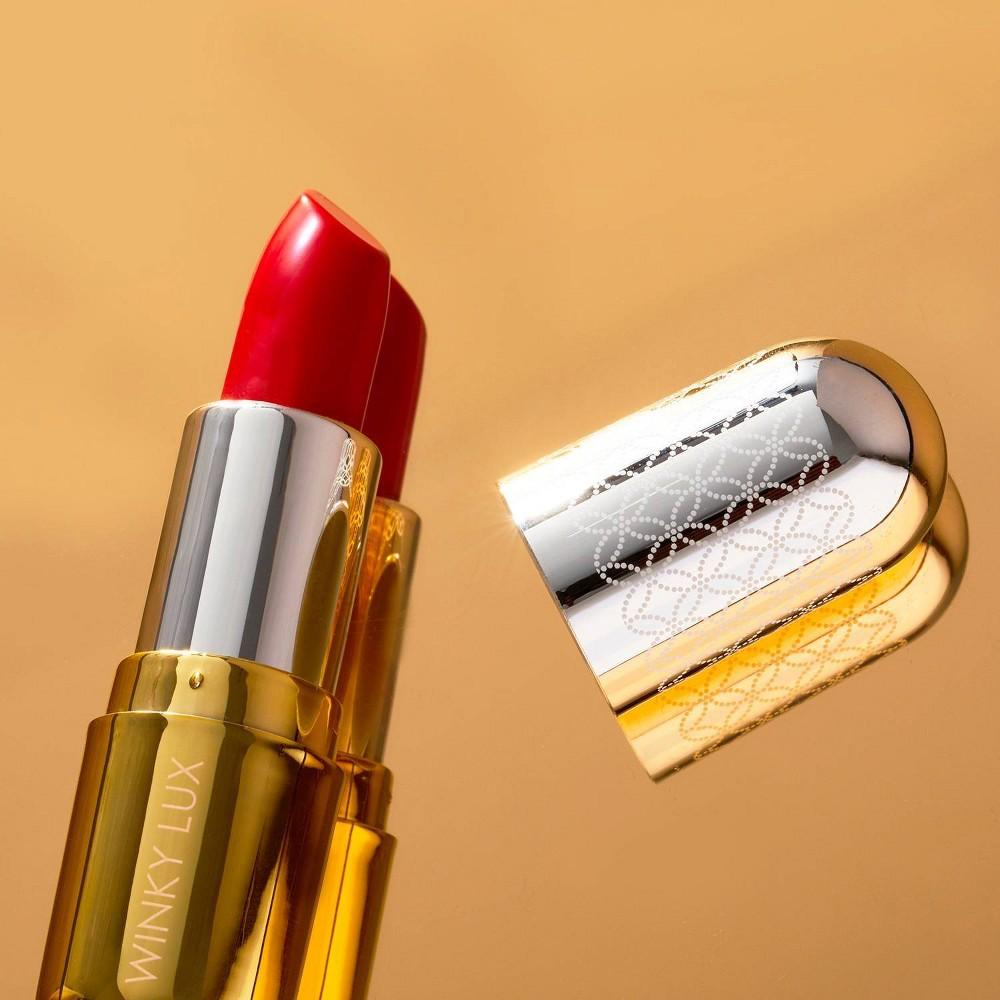 Winky Lux Lip Velour Demi Matte Lipstick Heart 0 14oz