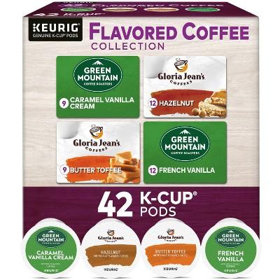 Keurig Flavored Coffee Collection Keurig K-Cup Coffee Pods Variety Pack Medium Roast - 42ct