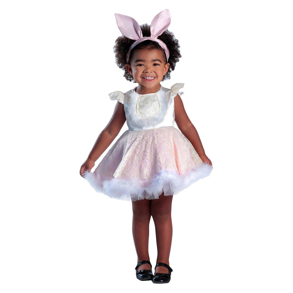Girls' Ivy the Bunny Costume XS, Multi-Colored