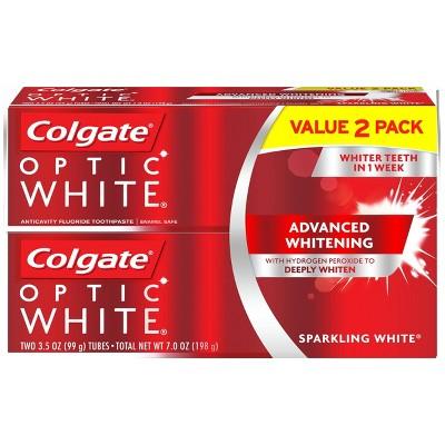 Toothpaste: Colgate Optic White