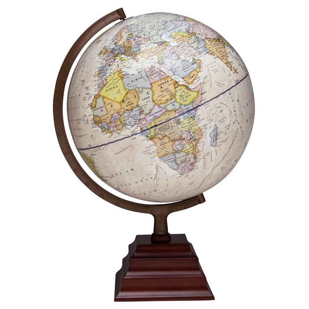 Waypoint Geographic Peninsula II Illuminated Desktop Globe, Neutral