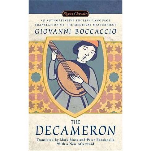 The Decameron - (Signet Classics) by  Giovanni Boccaccio (Paperback) - image 1 of 1