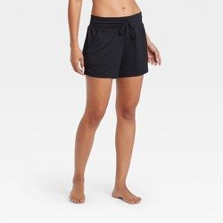"Women's Essential Mid-Rise Knit Shorts 5"" - All in Motion™"
