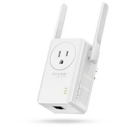 TP-LINK N300 Universal Wi-Fi Plug In Range Extender - White (TL-WA860RE)