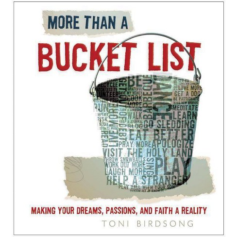 More Than a Bucket List - by  Thomas Nelson (Hardcover) - image 1 of 1