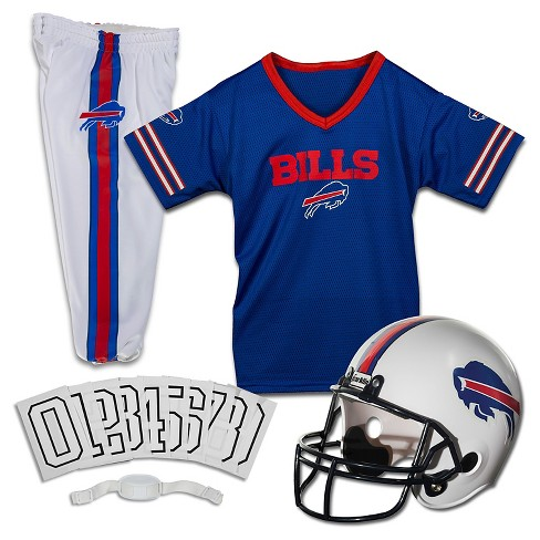 franklin sports buffalo bills youth nfl helmet and jersey set