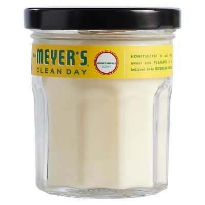 Mrs. Meyer's® Honeysuckle Soy Glass Candle - 4.9oz