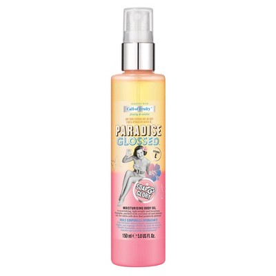 Soap & Glory Call of Fruity Paradise Glossed Moisturizing Body Oil - 5oz
