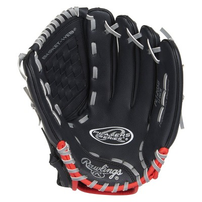 "Rawlings Player Series 12"" T Ball Glove - Black"