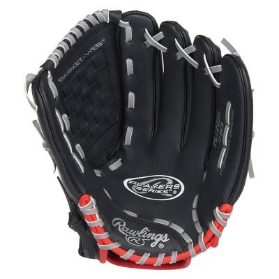 "Rawlings Player Series 12"" T Ball Glove - Black"