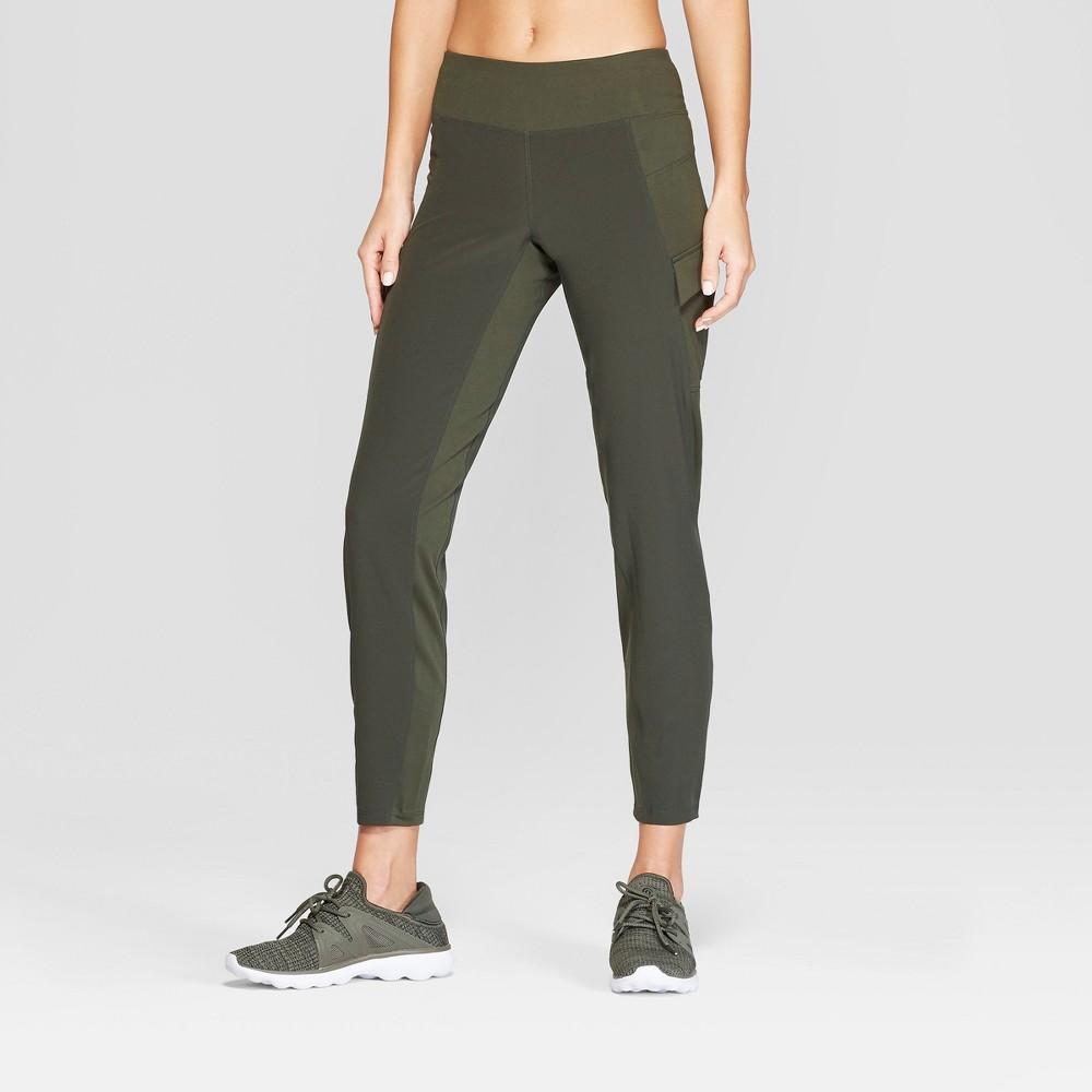 Women's Everday Woven Pants - C9 Champion Dark Green S