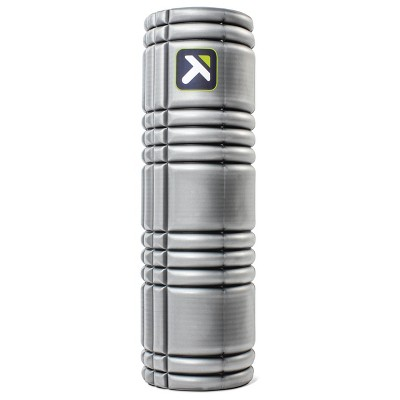 """Trigger Point 18"""" Solid Core Foam Roller - Gray"""