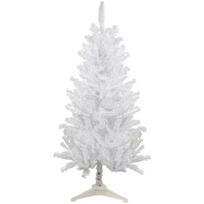 Northlight 4' Medium White Canadian Pine Artificial Christmas Tree - Unlit