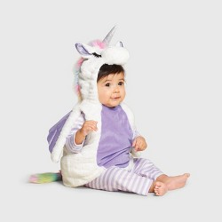 Baby Plush Unicorn Halloween Costume Vest - Hyde & EEK! Boutique™