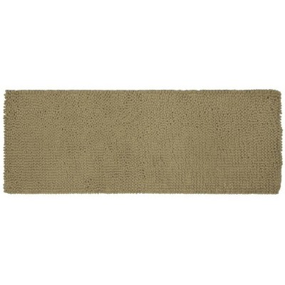 22 x60  Chunky Chenille Memory Foam Bath Rugs & Mats Light Taupe - Room Essentials™