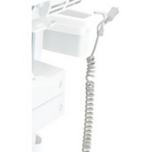 Ergotron SV Replacement Coiled Cord, SLA Carts - 120 V AC / 10 A - image 1 of 1