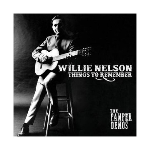 Willie Nelson - Things to Remember: The Pamper Demos (CD) - image 1 of 1