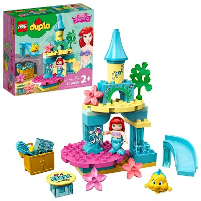 LEGO DUPLO Disney Ariel's Undersea Castle Building Toy; Princess Castle Under the Sea 10922