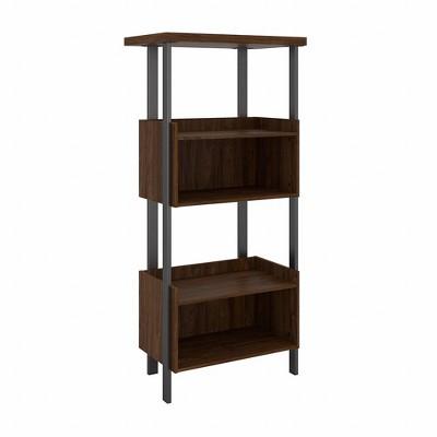 "65.98"" Architect 4 Shelf Bookcase Modern Walnut - Bush Furniture"