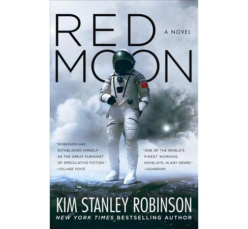 Red Moon -  by Kim Stanley Robinson (Hardcover) - image 1 of 1