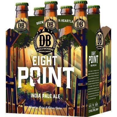 Devils Backbone Eight Point IPA Beer - 6pk/12 fl oz Bottles