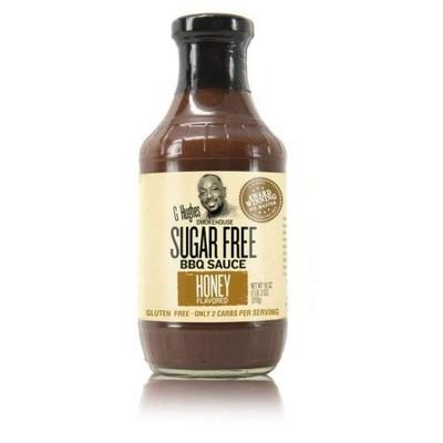 G Hughes Smokehouse Sugar Free BBQ Sauce Honey Flavored - 18oz
