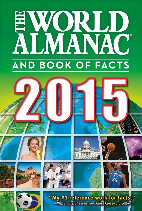 World Almanac and Book of Facts 2015 (Paperback) - image 1 of 1